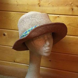 Two Straw Hats - Banana Rep and D Meucci